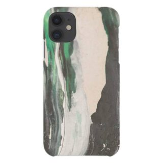A Good Company iPhone 11 Miljøvenligt Cover, Green Paint