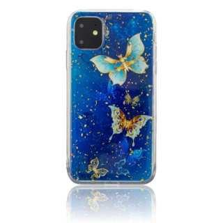 Blue Butterfly TPU Cover til iPhone 11 Pro Max