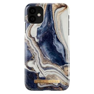 iDeal Of Sweden iPhone 11 Fashion Cover, Golden Indigo Marble