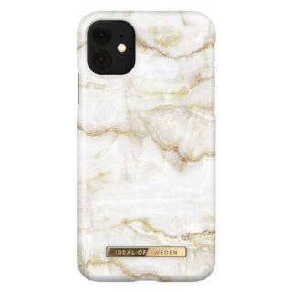 iDeal Of Sweden iPhone 11 Fashion Cover, Golden Pearl Marble