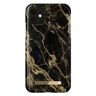 iDeal Of Sweden iPhone 11 Fashion Cover, Golden Smoke Marble