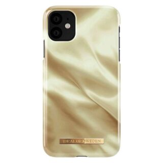 iDeal Of Sweden iPhone 11 Fashion Cover, Honey Satin