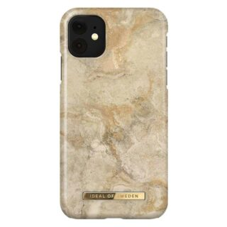 iDeal Of Sweden iPhone 11 Fashion Cover, Sandstorm Marble