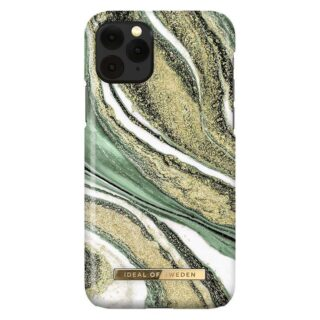 iDeal Of Sweden iPhone 11 Pro Fashion Cover, Cosmic Green Swirl