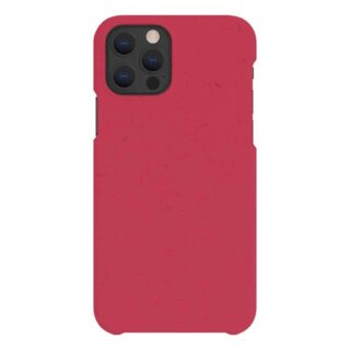 A Good Company iPhone 12 / 12 Pro 100% Plantebaseret Cover - Pomegranate Red
