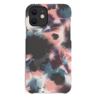 A Good Company iPhone 12 Mini Miljøvenligt Cover, Blue Pink Black Abstract