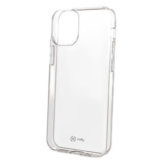 Celly Gelskin iPhone 12/12 Pro Soft TPU Cover, Transparent
