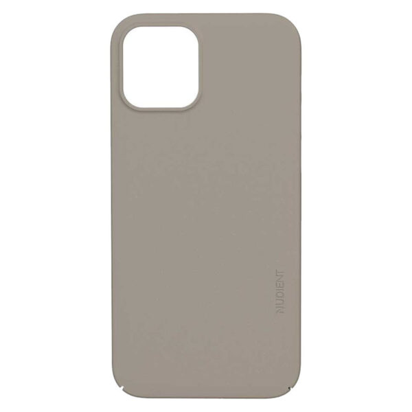 Nudient Thin Precise V3 iPhone 12/12 Pro Cover, Clay Beige