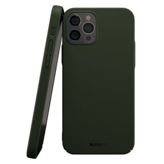 Nudient Thin V2 iPhone iPhone 12/12 Pro Cover, Majestic Green