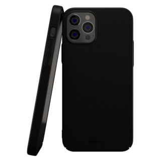 Nudient Thin V2 iPhone iPhone 12/12 Pro Cover, Stealth Black