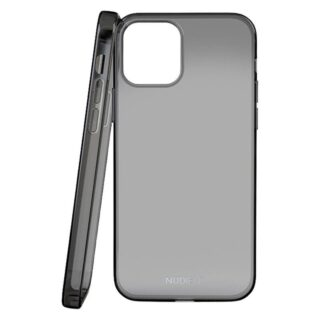 Nudient Thin iPhone iPhone 12/12 Pro TPU Cover, Sort Transparent